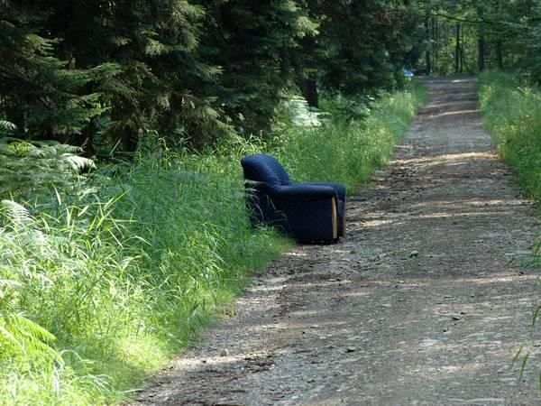 Mobilier forestier : le fauteuil une place